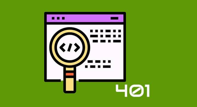 Cómo resolver error HTTP 401